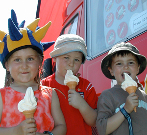 Outside Event Specialists,  ice cream events